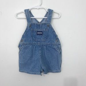 Oshkosh Vintage Denim Shortalls